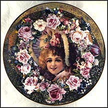 Bonnets & Bouquets Collector Plate by John Grossman