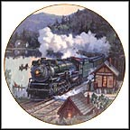 Crescent Limited Collector Plate by David Tutwiler