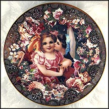 Dearest Kiss Collector Plate by John Grossman