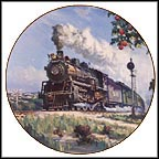 Orange Blossom Special Collector Plate by David Tutwiler
