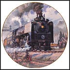 Portland Rose Collector Plate by David Tutwiler