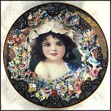 Springtime Beauty Collector Plate by John Grossman