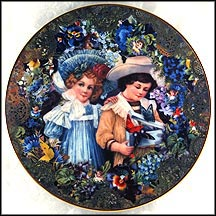 Summertime Fancy Collector Plate by John Grossman