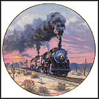 Sunset Limited Collector Plate by David Tutwiler
