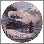 Western Star Collector Plate by David Tutwiler MAIN