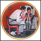 The Facts Of Life Collector Plate by Norman Rockwell