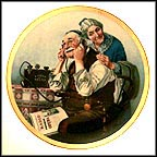 The Wonders Of Radio Collector Plate by Norman Rockwell