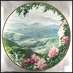 The Blue Ridge Mountains Collector Plate by Joseph and Eva Cellini