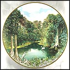 The Florida Everglades Collector Plate by Joseph and Eva Cellini