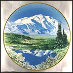 Mount McKinley Collector Plate by Joseph and Eva Cellini