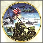 World War II Commemorative Plate Collector Plate