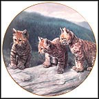 Three Of A Kind Collector Plate by Charles Fracé