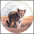 Young Explorer Collector Plate by Charles Fracé