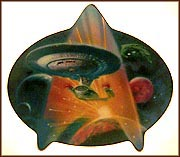 Engage Collector Plate by Bob Eggleton