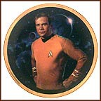 Kirk Collector Plate by Thomas Blackshear
