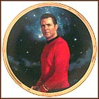 Scotty Collector Plate by Thomas Blackshear
