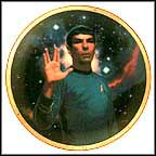 Spock Collector Plate by Thomas Blackshear