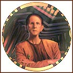 Security Chief Odo Collector Plate by Morgan Weistling