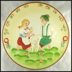 Heidi & Peter Collector Plate