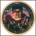 Star Trek III: The Search For Spock Collector Plate by Morgan Weistling