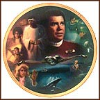 Star Trek IV: The Voyage Home Collector Plate by Morgan Weistling