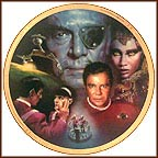 Star Trek VI: The Undiscovered Country Collector Plate by Morgan Weistling