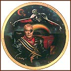 General Chang And The Klingon Bird Of Prey Collector Plate by Keith Birdsong MAIN