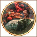 Gul Dukat And The Cardassian Galor Warship Collector Plate by Keith Birdsong MAIN