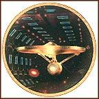 USS Enterprise NCC-1701-A Collector Plate by Keith Birdsong