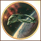 Romulan Warbird Collector Plate by Keith Birdsong