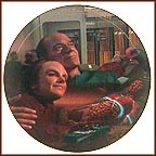 Life Signs Collector Plate by Dan Curry