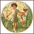 A Jumping Contest Collector Plate by Thornton Utz