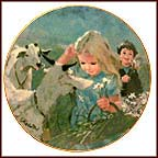 Mountain Friends Collector Plate by Thornton Utz
