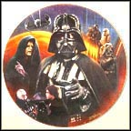 Darth Vader Collector Plate by Keith Birdsong