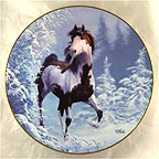 Winter Renegade Collector Plate by Chuck DeHaan MAIN