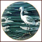 At The Water's Edge Collector Plate by Ron Parker