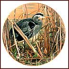 Early Spring Collector Plate by Ron Parker