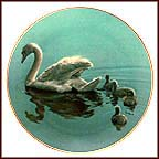 Following Mama Collector Plate by Ron Parker