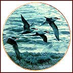 Wings Above The Water Collector Plate by Ron Parker