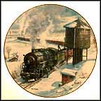 The Long Haul Collector Plate by Theodore A. Xaras