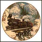 Winter Crossing Collector Plate by Theodore A. Xaras