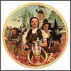 Fifty Years Of Oz Collector Plate by Thomas Blackshear