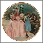 A Glimpse Of The Munchkins Collector Plate by Thomas Blackshear