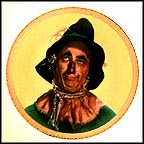 Scarecrow Collector Plate by Thomas Blackshear