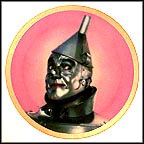 Tin Man Collector Plate by Thomas Blackshear