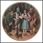 We're Off To See The Wizard Collector Plate by Thomas Blackshear