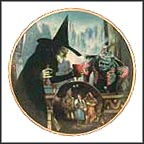 The Witch Casts A Spell Collector Plate by Thomas Blackshear