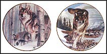 Broken Silence / Leader Of The Pack - set of 2 Collector Plate by Al Agnew MAIN