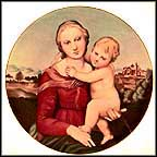 Cowper  Madonna And Child - Raphael Collector Plate by Raphael