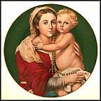 Madonna And Child - Murillo Collector Plate by Bartolomé Esteban Murillo